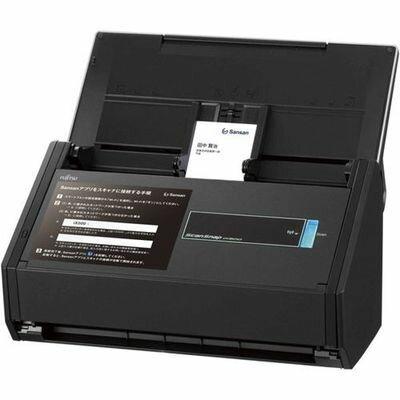 富士通 A4スキャナ ScanSnap iX500 Sansan Edition(2年保証モデル) FI-IX500SE-P【納期目安:約10営業日】