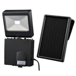 オーム電機 ソーラーLEDセンサーライト LS-SH1D4-K