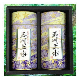 鈴木園 狭山茶「玉川上水」ギフト(紫)100g×2(200g) SZK-T-16