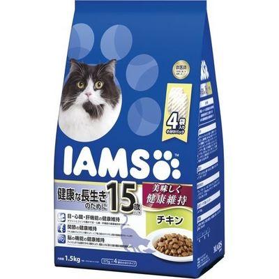 マースジャパンリミテッド アイムス 15歳以上用 健康な長生きのために チキン 1.5kg E472097H