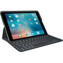 【代引手数料無料】ロジクール Smart Connector および Apple Pencilホルダー搭載バックライト付きキーボードケースfor iPad Pr...