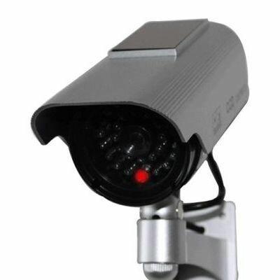 ブロードウォッチ 【LED点滅】太陽電池式ダミーカメラ 屋外防水型 SEC-CAM-NDLS