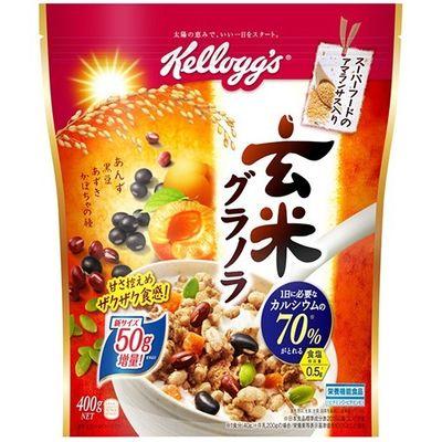 日本ケロッグ ケロッグ 玄米グラノラ 徳用袋 400g E496008H