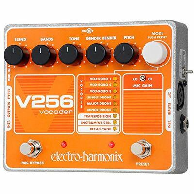 ELECTRO エレクトロハーモニクス V256 ボコーダー エフェクター 0683274011011