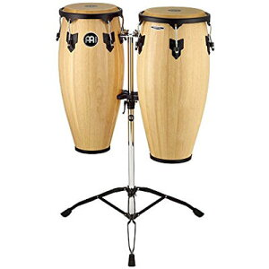 "MEINL Percussion マイネル コンガセット Headliner Series Conga Set 10""/11"" Natural HC888NT (スタンド付き) 0840553020007"