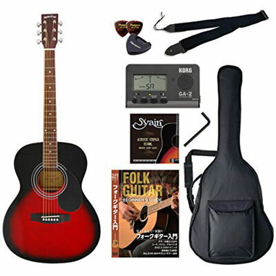 VALUE SepiaCrue/セピアクルー FG-10/RDS アコースティックギター初心者向け豪華8点バリューセット ビギナー向け/アコースティックギター 4534853054812