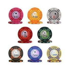 その他 フォースポット チップセット100枚(1、 10、 100、 500) - カジノチップ・ポーカーチップ ds-725691