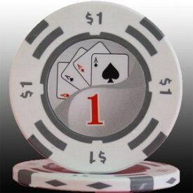 その他 フォースポット チップ ( 1$ ) <25枚セット> - カジノチップ・ポーカーチップ ds-725799