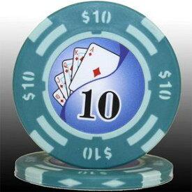 その他 フォースポット チップ ( 10$ ) <25枚セット> - カジノチップ・ポーカーチップ ds-725801