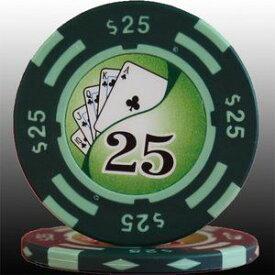 その他 フォースポット チップ ( 25$ ) <25枚セット> - カジノチップ・ポーカーチップ ds-725802