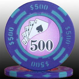 その他 フォースポット チップ ( 500$ ) <25枚セット> - カジノチップ・ポーカーチップ ds-725804