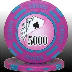 その他 フォースポット チップ ( 5000$ ) <25枚セット> - カジノチップ・ポーカーチップ ds-725806