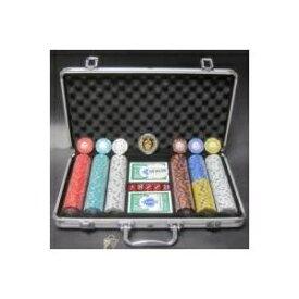 その他 フォースポット・ポーカーセット300 -シルバー(チップセット) ds-725893