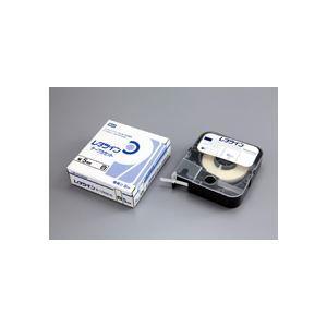 その他 マックス レタツイン テープカセット 5mm幅×8m巻 白 LM-TP305W 1個 ds-968562