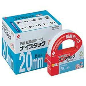 その他 【まとめ買い】ニチバン ナイスタック 両面テープ ブンボックス (2.0cm×20m) 1箱(6巻) ds-1095529