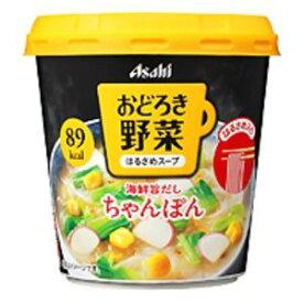 その他 【まとめ買い】アサヒフーズ おどろき野菜 ちゃんぽん 24カップ入り(6カップ×4ケース) ds-1252483