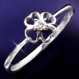 その他 ダイヤリング 指輪クローバーリング 17号 ds-1262880