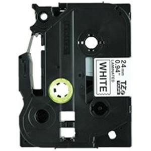 その他 brother ブラザー工業 文字テープ/ラベルプリンター用テープ 【幅:24mm】 5個入り TZe-251V 白に黒文字 ds-1297801