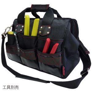 その他 電工ポケット WAIST GEAR 【ボストンツールバッグ】 ポケット付き レッド(赤) マーベル MTB-3B ds-1320333