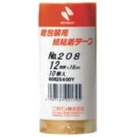 その他 (業務用5セット)ニチバン 紙粘着テープ 208-12 12mm×18m 10巻 ds-1460973