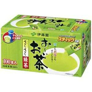 その他 (まとめ)伊藤園 おーいお茶 抹茶入りさらさら緑茶 100本 【×6セット】 ds-1464896