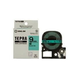 その他 (業務用5セット) キングジム テプラPROテープ/ラベルライター用テープ 【幅:9mm】 SC9G 緑に黒文字 ds-1466270