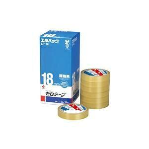 その他 (まとめ)ニチバン セロテープ Lパック LP-18 18mm×35m 12巻【×2セット】 ds-1470311