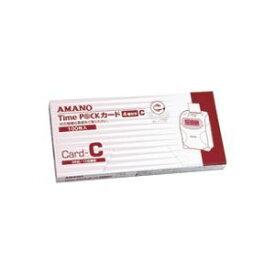 その他 (まとめ)アマノ タイムパックカード(4欄印字)C【×3セット】 ds-1471448