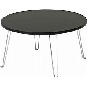 その他 カラーテーブル/折りたたみテーブル 丸60 丸型 CCB600BK ブラック(黒) ds-796041