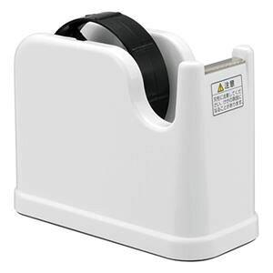 その他 (業務用セット) テープカッター NTC-201-W ホワイト【×10セット】 ds-1521727