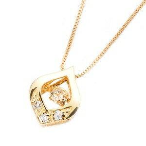 その他 ダイヤモンドペンダント/ネックレス 一粒 K18 イエローゴールド 0.1ct ダンシングストーン ダイヤモンドスウィングネックレス 揺れるダイヤが輝きを増す☆ 雫モチーフ 揺れる ダイヤ ds-1520779