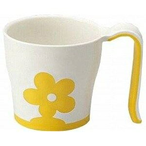 その他 (まとめ)三信化工 食事用具 自助食器マグカップ イエロー UPC-180Y【×10セット】 ds-1547018