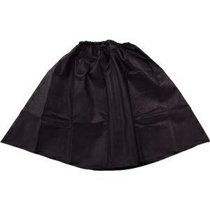 その他 (まとめ)アーテック 衣装ベース 【マント・スカート】 不織布 ブラック(黒) 【×15セット】 ds-1562408