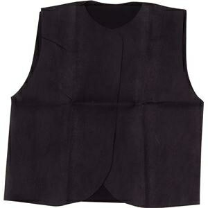 その他 (まとめ)アーテック 衣装ベース 【S ベスト】 不織布 ブラック(黒) 【×30セット】 ds-1562452