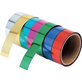 その他 (まとめ)アーテック ミラーテープ 【金】 10本組 18mm×8m 粘着加工無し 【×5セット】 ds-1564020