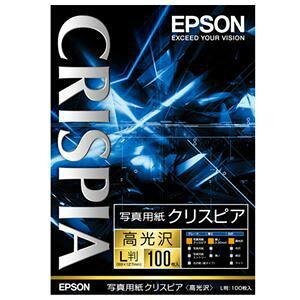 その他 (まとめ) エプソン EPSON 写真用紙クリスピア<高光沢> L判 KL100SCKR 1箱(100枚) 【×3セット】 ds-1572186