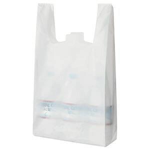 その他 (まとめ) TANOSEE 乳白レジ袋 35号 ヨコ265×タテ540×マチ幅130mm 1パック(100枚) 【×15セット】 ds-1580149