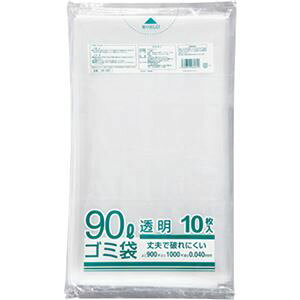 その他 (まとめ) クラフトマン 業務用透明 メタロセン配合厚手ゴミ袋 90L HK-089 1パック(10枚) 【×15セット】 ds-1581769