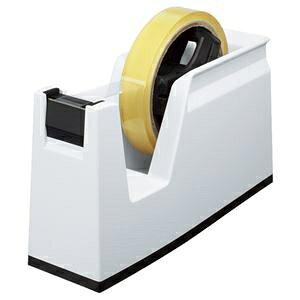 その他 (まとめ) コクヨ テープカッター カルカット 大巻・小巻両用 白 T-SM100W 1台 【×4セット】 ds-1582326