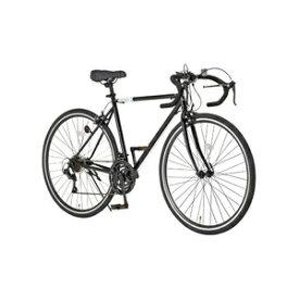 その他 ロードバイク 700c(約28インチ)/ブラック(黒) シマノ21段変速 重さ/14.6kg 【Grandir Sensitive】 ds-1634467