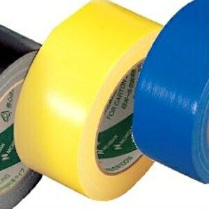 その他 (業務用セット) ニチバン カラー布テープ(薄手) イエロー 【×10セット】 ds-1640391