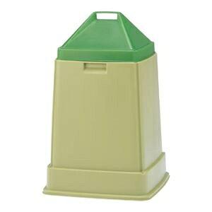 その他 三甲(サンコー) コンポスターセット/生ゴミ処理容器 【70L】 D-70】 グリーン(緑)【代引不可】 ds-1647288