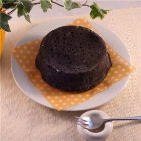 その他 黒いチーズケーキ 3台 (直径約12cm)【代引不可】 ds-1653932