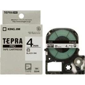 その他 (業務用50セット) キングジム テプラPROテープ/ラベルライター用テープ 【幅:4mm】 SS4K 白に黒文字 ds-1735027