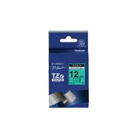 その他 (業務用30セット) brother ブラザー工業 文字テープ/ラベルプリンター用テープ 【幅:12mm】 TZe-731 緑に黒文字 ds-1739812