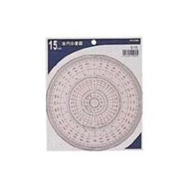 その他 (業務用50セット) コンサイス 全円分度器 C-15 15cm ds-1740884