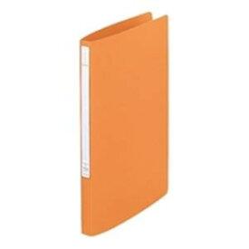 その他 (業務用100セット) LIHITLAB パンチレスファイル/Z式ファイル 【A4/タテ型】 F-347U-4 橙 ds-1742784