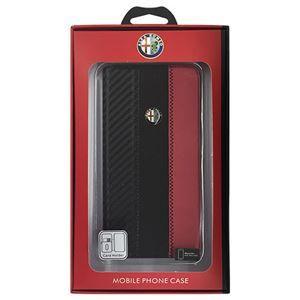 その他 Alfa Romeo 公式ライセンス品 High Quality Carbon Synthettic Leather book case w/card holder Red iPhone6 PLUS用 AR-SSHFCIP6P-4C/D5-RD ds-1760953