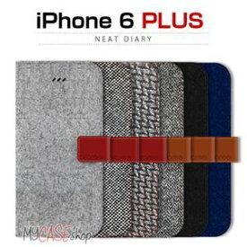 その他 araree iPhone6 Plus Neat Diary カシミヤブラック ds-1822940