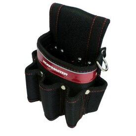 アークランドサカモト WORKMASTER 小型腰袋 差付 1段(赤) WMK-02R 4904781390984